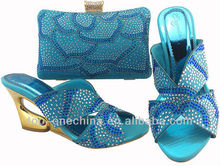 New fashion style afrian shoes and bag to match in 2013