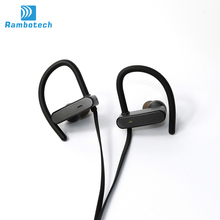 IPX-7 origin bluetooth 4.1 earphone RU10 great sound with built in microphones and hard travel case for workout