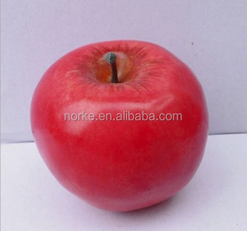 Top Quality Artificial Weighted Red Apples Faux Fruits Fake Fruits Gifts/ Home Decor