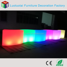 light up mini round bar table/counter for outdoor/party/garden/event
