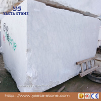 Super Top Grade High Quality Carrara White Marble Material Blocks