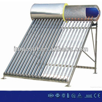 2014 how much does a solar water heater cost