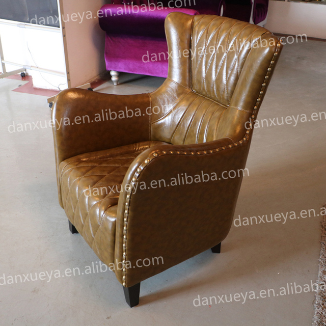 small throne soft single wingback hotel sofa chair