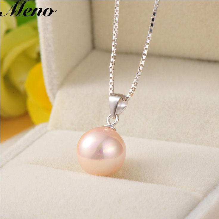 Brand new single imitation pearl themed pendant necklace jewelry With Factory Wholesale Price