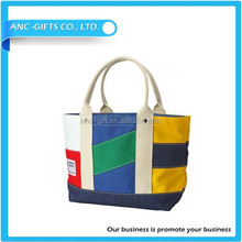 Standard size canvas tote bag print canvas tote rope handle cotton bag