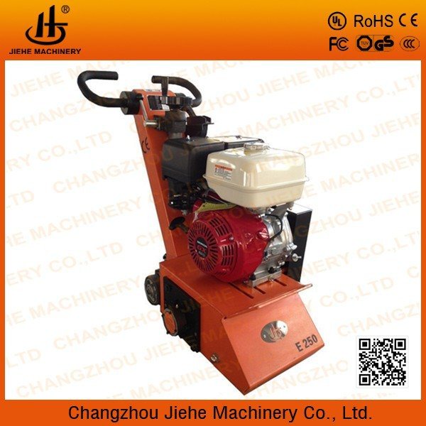 Honda gasoline engine asphalt surface scarifier with Honda GX390 or GX270 (JHE-250)