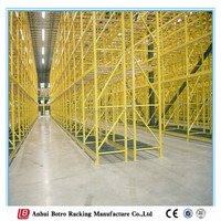 Heavy duty pallet storage rack, economical pallet racking, paper storage rack/ pallet racks