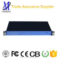 Hot Sell China 19inch rack mount chassis rackmount cabinet mini itx case for nas server Network security industrial chassis