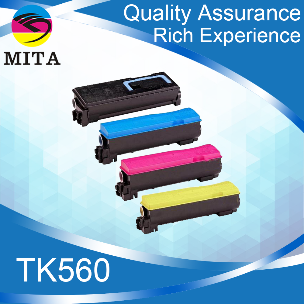 Original quality TK560 TK561 KMCY Compatible Empty Toner Cartridge