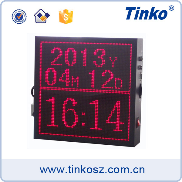 High standard large temperature humidity display led displays rs485 for hospital