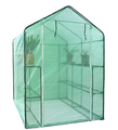Garden Walk-in Greenhouse Outdoor Small PVC Protect Plants Shed
