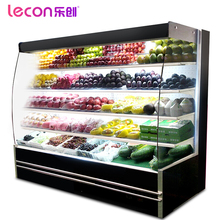 CE Certification Popular Vertical Type Fruit And Vegetable Display Cooler