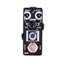 2018 New Tiny Looper Guitar Effect Pedal 21 minutes of Looping 3 Modes Pitch Shifer