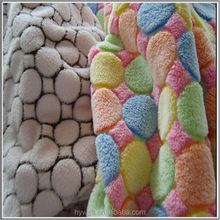 Super Soft Polyester Coral Fleece Fabric for Bathrobe