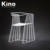 Outdoor Garden Metal Steel Chair, Metal powder coating garden furniture dining room dining chair, White