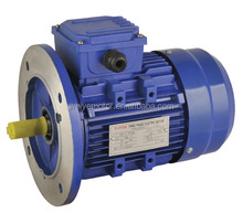Double Shaft 220/380V B3 AC Three Phase Electric Motor 1.1kw 1.5hp