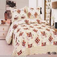 Wholesale new style Rubiks cube design indian cotton quilt