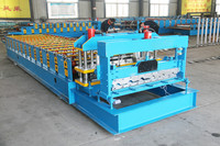 Pass ISO&CE High Rib Tile Roll Forming Machine, Making Machinery,Steel Plate Rolling Machine