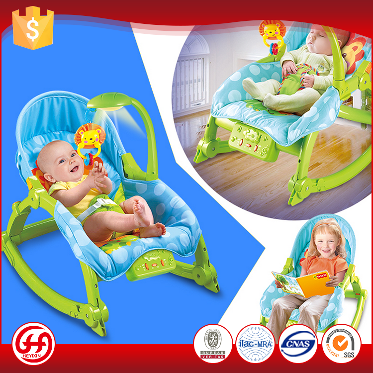 new product rocking learning chair toys baby bed cot for wholesale