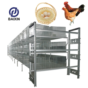 A Type 4 Tier Chicken Battery Layer Cages Used Chicken House Equipment For Poultry Farm