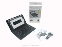 With Stand Leather Protective Flip Bluetooth Keyboard Case for Samsung Tab 3 P3200 T210 T211