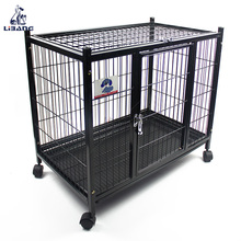 High Quality Portable Foldable Pet Dog Cage Wire Mesh Cage