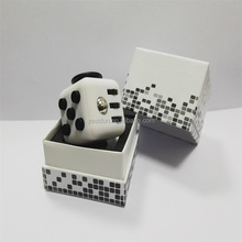 New Design Six Functions Relax Stress Fidget Cube Magic Square Desk Dice Toys