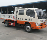 dongfeng brand new small crew cab ethiopia dump truck for sale
