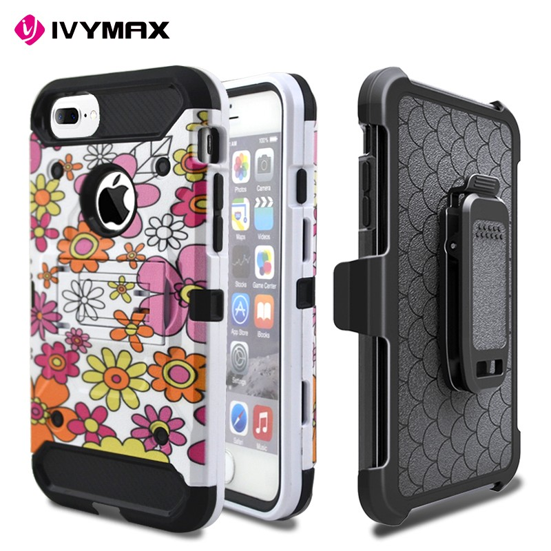 OEM Factory IVYMAX Brand Cell Phone Case For iphone 7 Plus flip Case