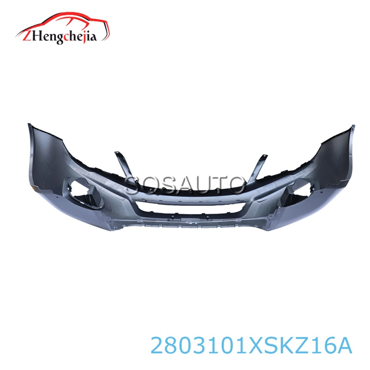 Auto spare parts front car bumper for Great Wall 2803101XSKZ16A-C