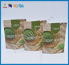 china supplier customized empty tea bags with resealable zipper
