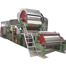 Small Paper Recycling Machine 787mm Toilet Tissue Paper Making Machine Price