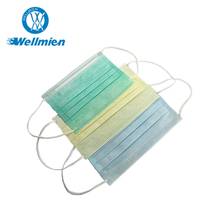 Non woven surgical face mask tie on,mouth cover,mouth mask