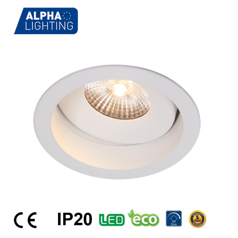 perfect design fixed straight deep recessed 10w led lighting