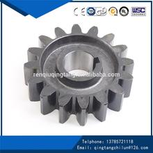 Stainless Steel hardened small spur gear with top quality