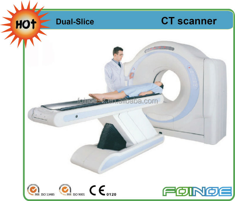 Dual-Slice CE approved hot and new model ct scan equipment
