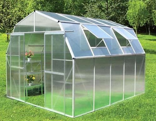 10 year quality assurance durable plastic panel for Greenhouse skylights