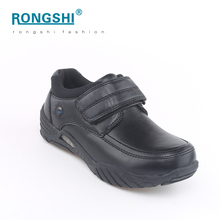 Best price 2017 new model china factory wholesale bulk light up black child kids student children boys kid shoes school shoe