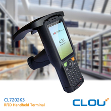 CLOU Android 5.1 handheld computer with UHF R2000 RFID reader and barcode reader