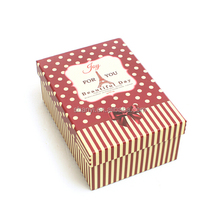 hand made Custom Bow Tie Small Product Food Chocolate Gift Lingerie Paper Cardboard Packaging Box Gift Box For Wholesale Custom