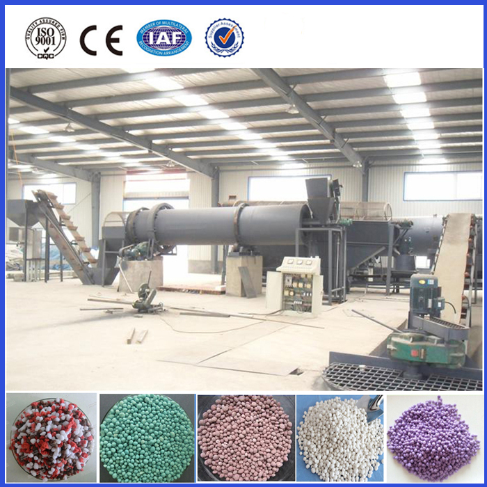 High quality compost fertilizer making equipment for sale