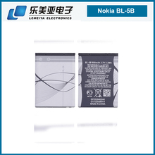 aaa battery charger celllphone battery bl-5b 4.2V 1year guarantee for nokia