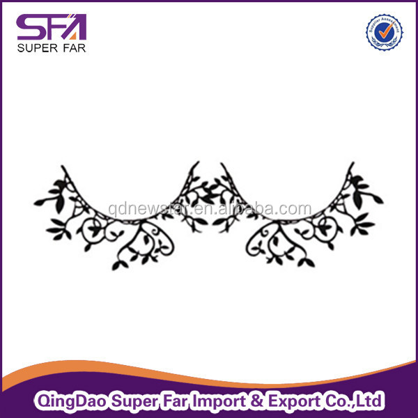 new fashion hot sale Chinese paper cutting pretty false eyelash for lady