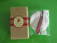 travel vanity kit/bathroom set with Chinese style/Classic Hotel Cosmetic Cotton Facial Pad With Good Quality