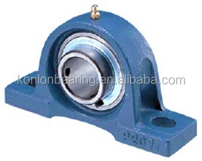 ball type pillow block bearings with house
