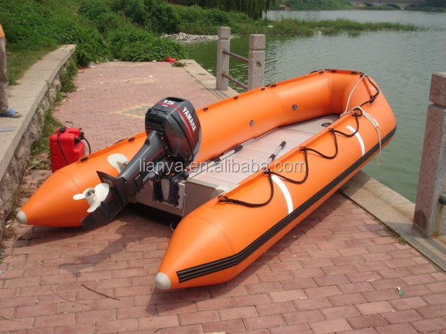 2m to 6.5m Liya Inflatable rubber boat with electric motor