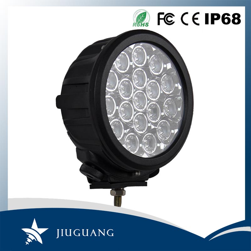 best quality cheap 90w C REE LED waterproof round portable offroad work driving light for truck SUV ATV
