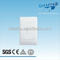 1 gang two way switch, Classical south africa in wall network switch