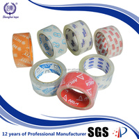 High Adhesive Pallets Environment Protection Bopp Crystal Clear Packing Tape