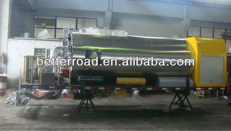opper of bitumen distributor without truck/tank volume:8000L